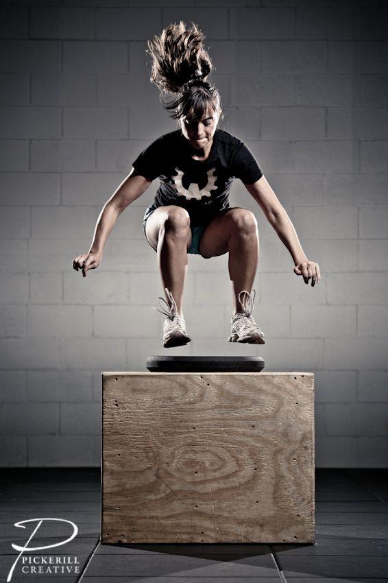 Crosfit Box Jump