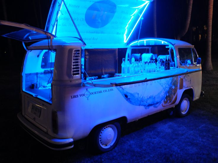 Cocktail Camper Van