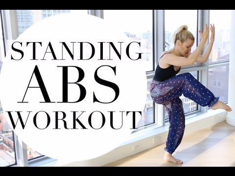 STANDING ABS PILATES WORKOUT | TRACY CAMPOLI | FLAT ABS WORKOUT