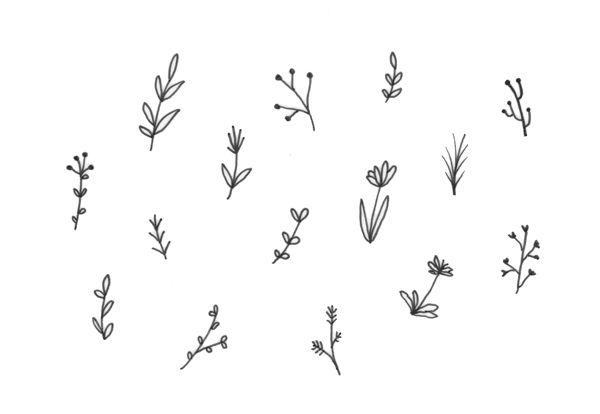 doodles from my sketchbook - minna may   design + illustration
