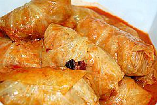 Klara's Stuffed Cabbage Recipe - Croatian Sarma: Stuffed Cabbage Rolls or Croatian Sarma