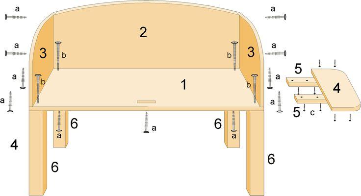 Bedside Crib Construction Manual - DIY wooden co-sleeper bassinette