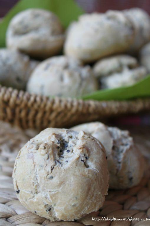 (노버터) 바삭~하고 쫄깃한 감동...타피오카 가루를 이용한 깨찰빵 - Daum 요리