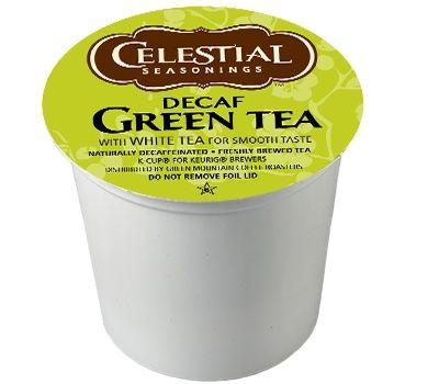 celestial decaf green tea keurig kcups for sale at - Decaf K Cups