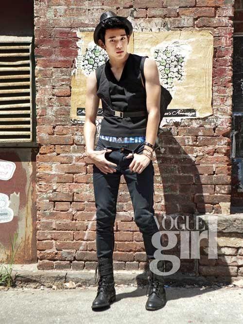 Kim Soo Hyun for Vogue Girl
