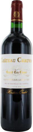 Château Chauvin Grand Cru Classé de Saint-Emilion rouge 2010 - Saint-Émilion Grand Cru - 14/20 : Souple et suave, petite raideur tannique