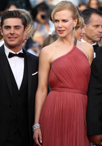 Zac Efron et Nicole Kidman, Festival de Cannes 2012