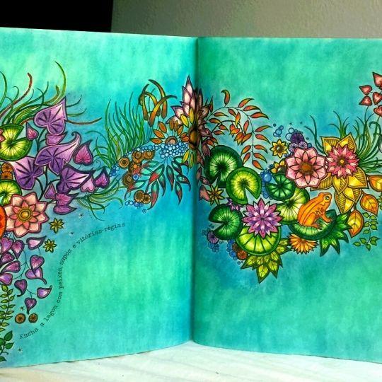 1000 ideas about secret garden coloring book on pinterest for El jardin secreto johanna basford