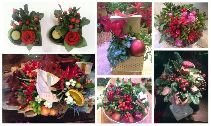 Red Flowers Arrangements for Christmas. Christmas Centerpiece. Centrotavola Natale 2016. Decorazioni Natalizie Roma: www.laflorealedistefania.it #fioristaroma #decorazioninatale #laflorealedistefania #fattoamano #handmade #christamsdecorations #christmaswreath #christmas2016 #xmas2016 #homedecor #florist #flowerarrangements