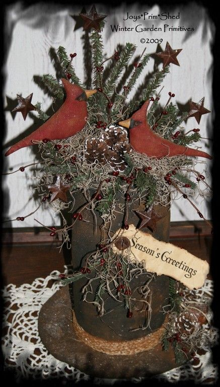 primitive crafts to make for christmas  this is great pattern to make for gift giving or