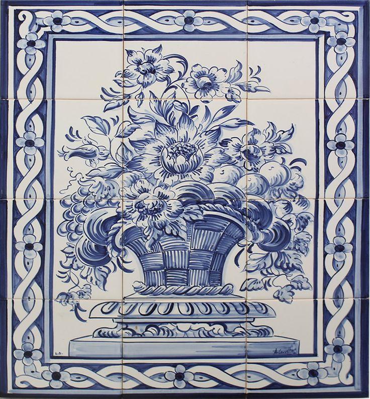 M s de 25 ideas incre bles sobre azulejos pintados en for Azulejos bano cordoba