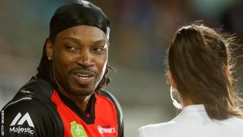 Chris Gayle: Melbourne Renegades could re-sign batsman for Big Bash