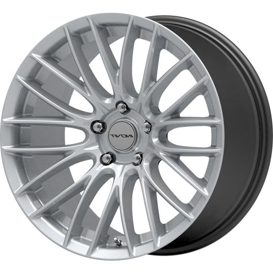 INOVIT SONIC HYPER SILVER alloy wheels with stunning look for 5 studd wheels in HYPER SILVER finish with 19 inch rim size