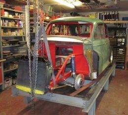 Morris Minor Milfred The Moggie Hot Rod by nobody http://www.hotrodbuilds.net/morris-minor-milfred-the-moggie-build-by-nobody