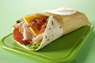 Sandwich roulé « glouglouglou »