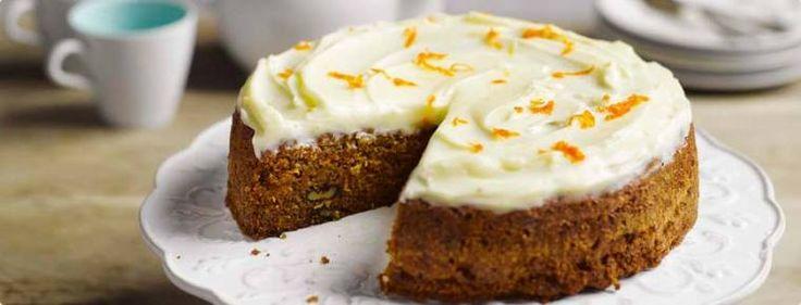 Φτιάξτε μόνοι σας κέικ καρότου