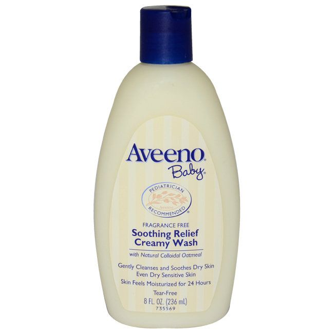 Aveeno for Kids BaSoothing Relief 8-ounce Creamy Body