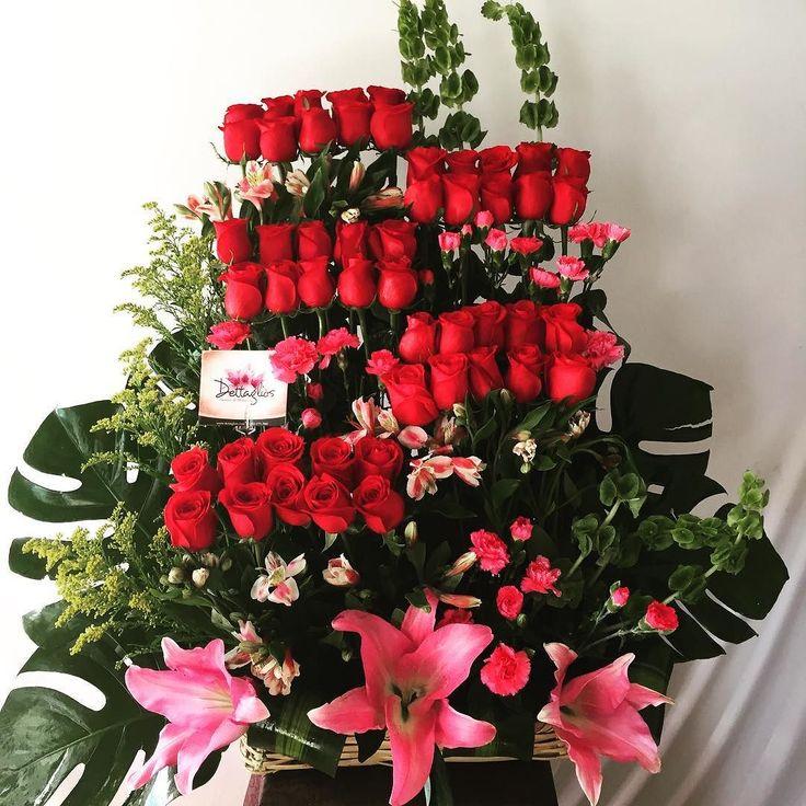 50 rosas para enamorar! #felizaniversario #amor #rosas #50roses #dettaglios