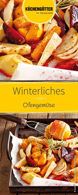 Rezept für winterliches Ofengemüse