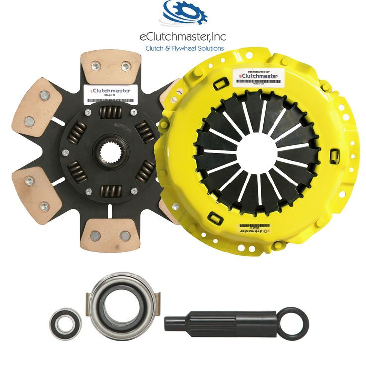 Stage 2 Racing Clutch Kit Fits 97-06 LEGACY 2.5L N/T by eClutchmaster. This Racing clutch setup is good for both street nd strip purposes. It comes with everything you need to install old clutch without any modifications.
