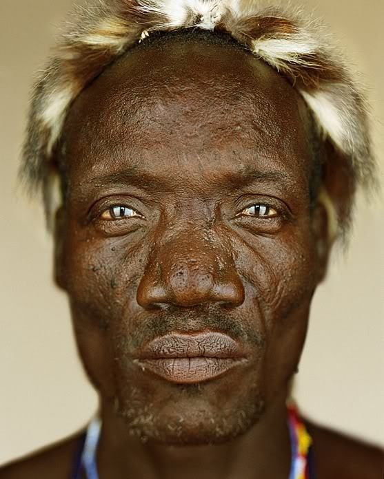 The Hadza ~ by martin schoeller: