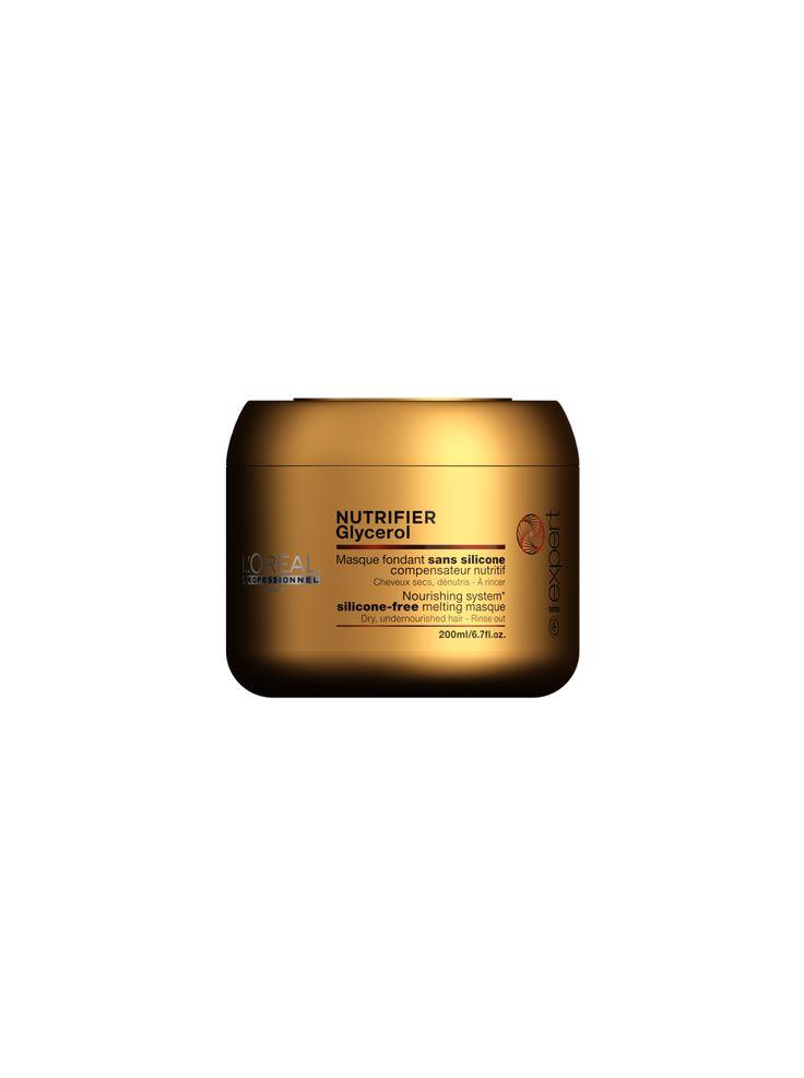 L'Oréal Professionnel Paris Série Expert Nutrifier Nourishing System silicone-free melting masque 200ml.