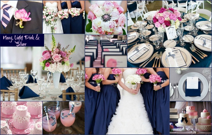 Pale Pink and Blue Country Club Wedding |Light Pink And Blue Wedding