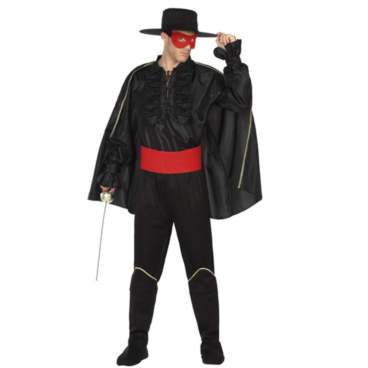 Déguisement Zorro Le Bandit #déguisementsadultes #costumespouradultes #nouveauté2016