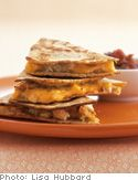 Quesadillas (with Butternut Squash) by Jessica Seinfeld from the book Deceptively Delicious