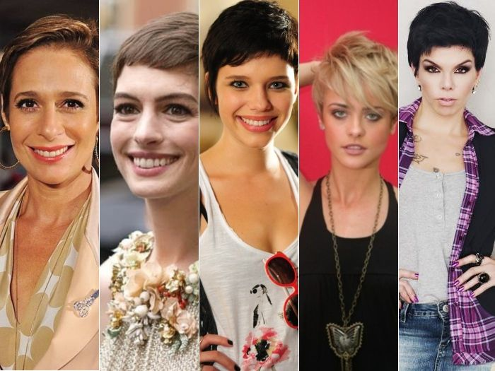 famosas brasileiras com cabelo curto (joaozinho) - Pesquisa Google