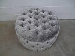 Image result for velvet grey footstool