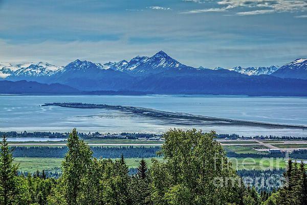 The Homer Spit By Robert Bales 1964 Alaska Earthquake Kenai Peninsula Seascape