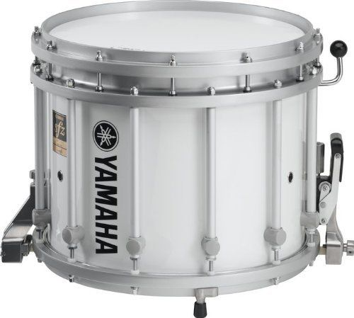 Yamaha 14x12 MTS Series Marching Snare Drum Only White Wrap by Yamaha. $609.99. Yamaha Band and Orchestra 14x12 MTS Series Marching Snare Drum OnlyCable Snare UnitLocated beneath the batter head with on/off control.Enhanced Snare Response and Additional Sound ColorPerfect for indoor/outdoor marching use AND pipe band drumming.HeadSmooth white Falams II K-Series head comes standard.Lugs12 tubular aluminum lugs.Self-tensioning, steel wire upper snaresDelivers a bright tone wi...