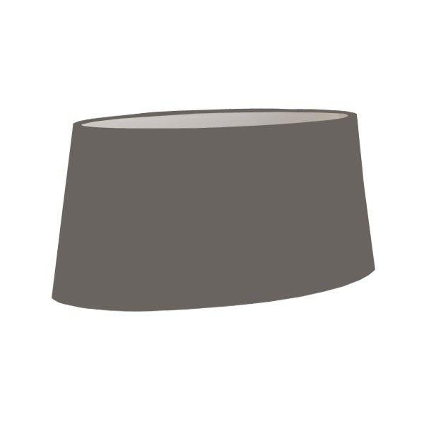 Abat jour ovale sur mesure 45 cm