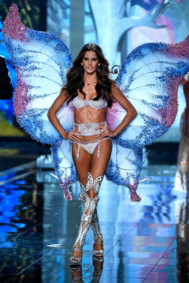 From Adriana Lima to Candice Swanepoel—the 40 sexiest looks from the Victoria's Secret Fashion Show.