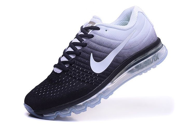 Nike Air Max 2017 Black White Mesh