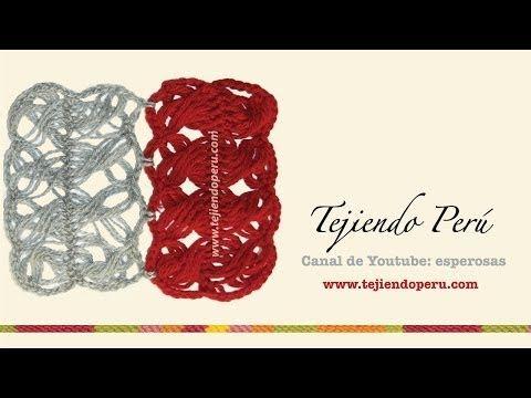 Crochet horquilla con distinto diseños en el centro - con Ruby Stedman - YouTube