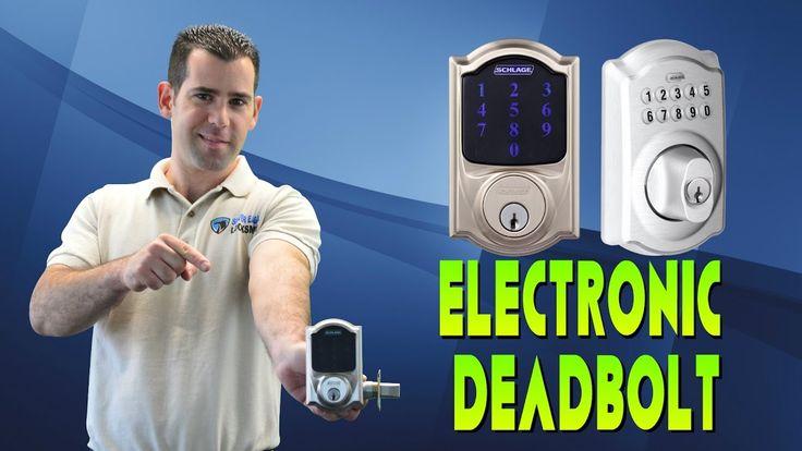Keyless Entry Electronic Deadbolt - Schlage Keypad Deadbolt & Schlage Connect Installation -  Las Vegas Locksmith Silver Eagle