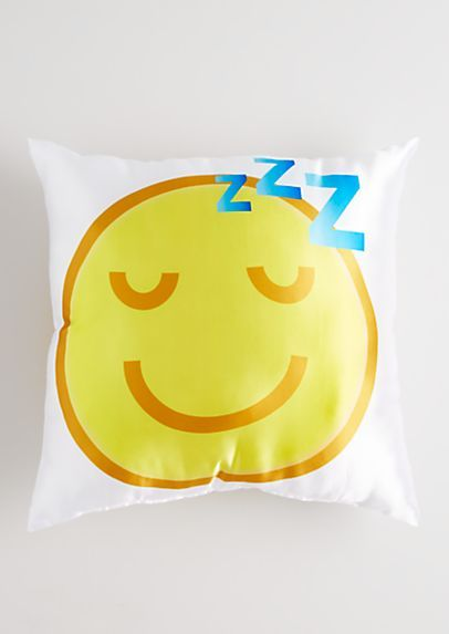 Love Sleep Emoji Pillow | rue21