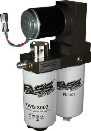 TD08220G FASS Fuel Systems Titanium Series Diesel Fuel Lift Pump 220GPH Fitment 1998.5-2004 Cummins 5.9L
