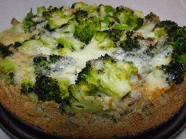 Voedselzandloper-proof: Hartige taart met broccoli en kastanje-champignons