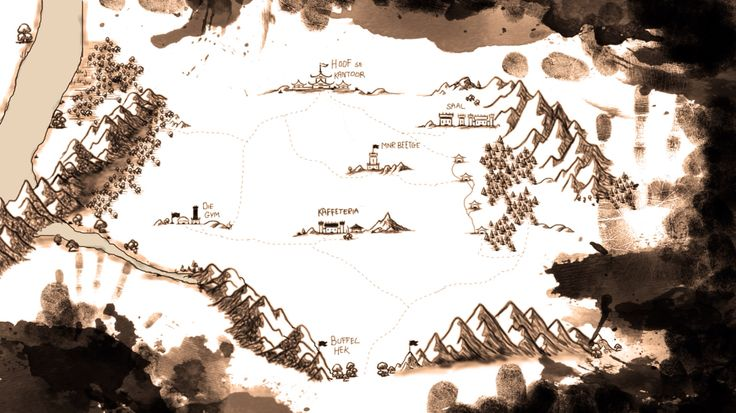 Game of thrones themed map