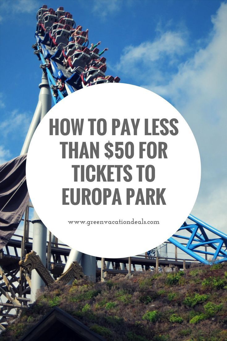 Europa Park travel tip - How to get a great price for your tickets for Europa-Park in Germany. Read before you buy tickets for your Germany vacation! Great Europe theme park travel deal. Tickets to use on your trip to Rust.