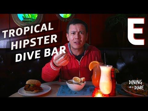 Could These Brooklyn Dive Bar Nachos Be The Best Around? — Dining on a Dime - YouTube
