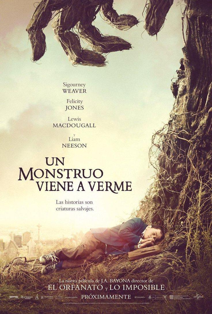 Un monstruo viene a verme (2016) España. Dir: J.A. Bayona. Drama. Fantástico. Infancia. Familia. Enfermidade - DVD CINE 2469