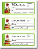 Printable Gift Certificates:  Using this to make Connor a gift certificate for his drum lessons as a Christmas gift.  =)
