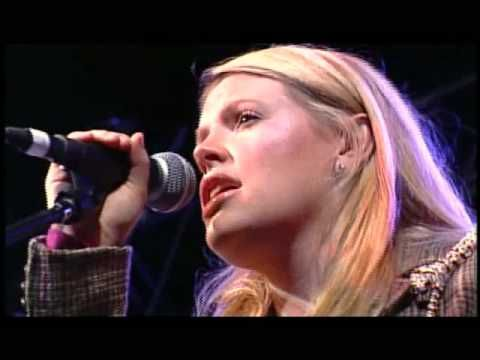 Natalie Maines ft. Bruce Robison & Kelly Willis - Travelin' Soldier.  Written by Bruce Robison