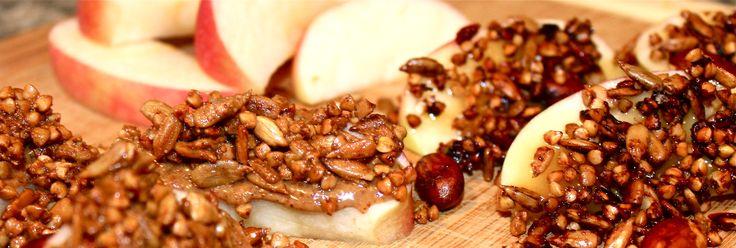 Buckwheat, Apple slices and Granola on Pinterest