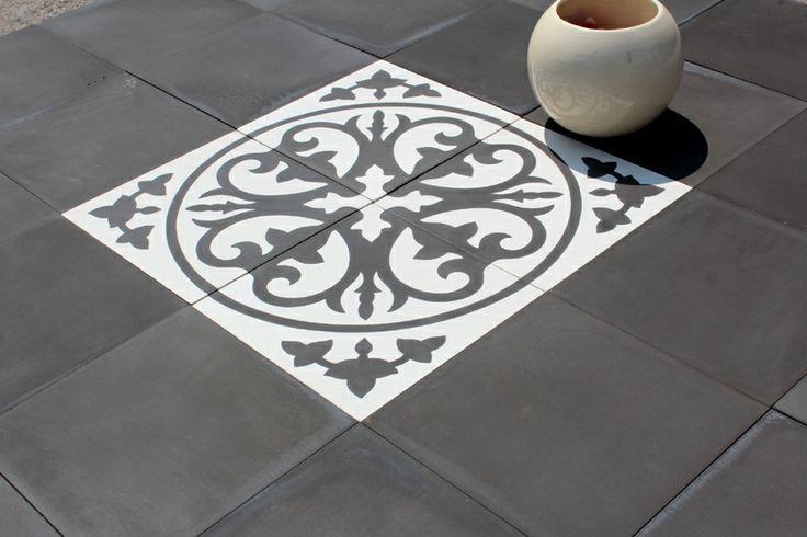 1000 images about carreaux ciment on pinterest baroque belle and blue tiles. Black Bedroom Furniture Sets. Home Design Ideas