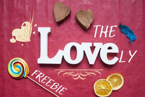 The Lovely Valentine's Freebie by digitalopedia on Creative Market